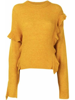 Пуловер из альпаки - желтый 3.1 Phillip Lim