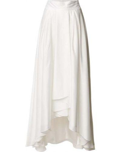 Spódnica rozkloszowana - biała Swing
