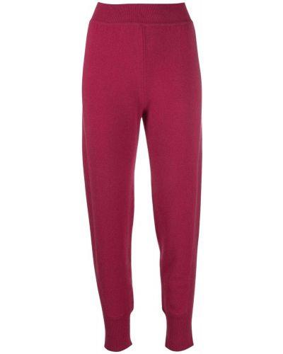 Czerwone spodnie Alberta Ferretti