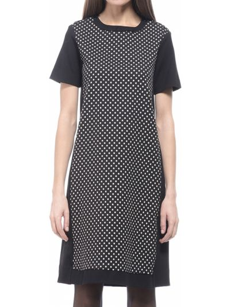 Платье из вискозы - черное Marina Yachting
