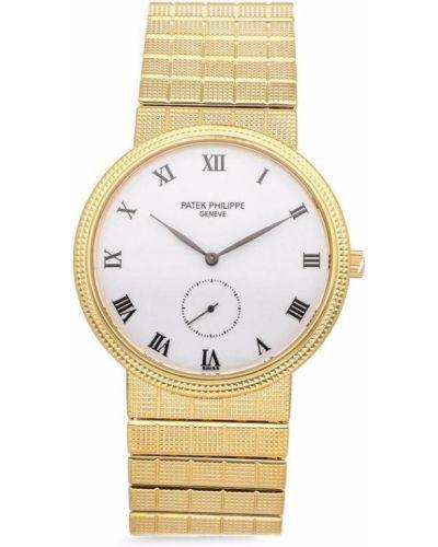 Белые часы Patek Philippe