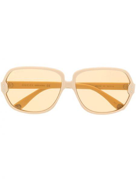 Oprawka do okularów ze srebra Gucci Eyewear