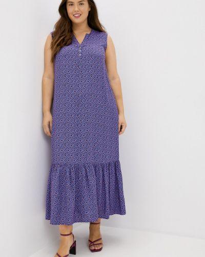 Повседневное фиолетовое свободное платье Finn Flare