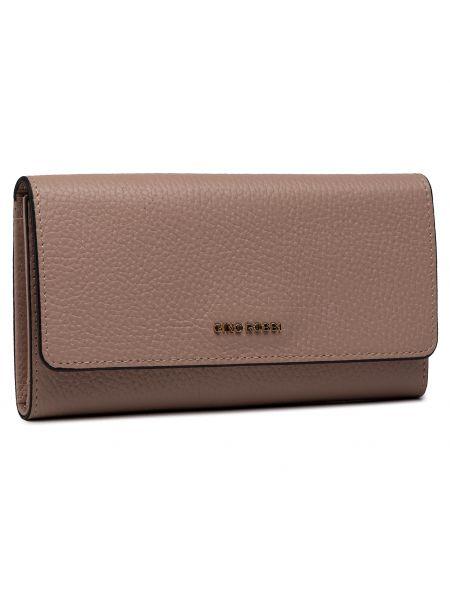Różowy portfel oversize Gino Rossi