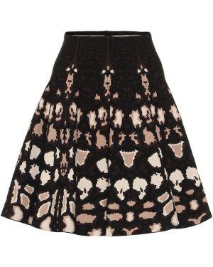 Черная юбка Alaïa