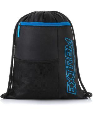 Niebieski sport plecak szkolny oversize Producent Niezdefiniowany
