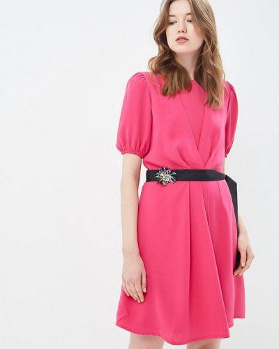 Вечернее платье розовое весеннее Silvian Heach