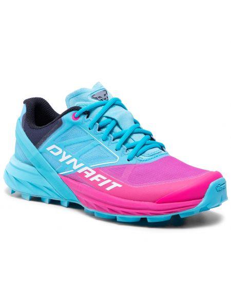 Niebieskie buty sportowe casual Dynafit