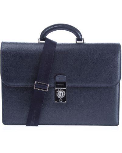 Портфель кожаный классический Moreschi
