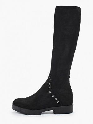 Ботинки на каблуке черные осенние Chezoliny