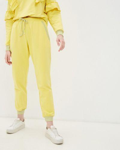 Желтые спортивные брюки Rinascimento