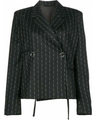 Прямой черный удлиненный пиджак 1017 Alyx 9sm