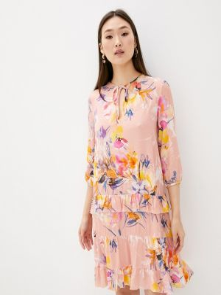 Розовое повседневное платье Blugirl Folies