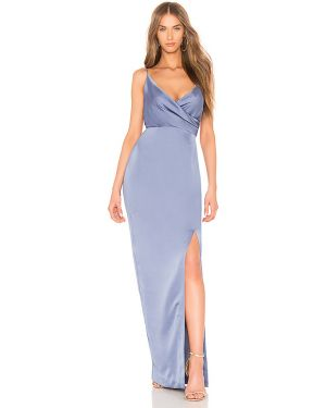 Niebieska sukienka asymetryczna na co dzień Keepsake