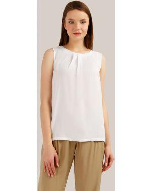 Блузка белая из вискозы Finn Flare