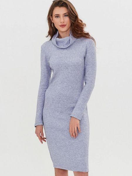 Серое платье Masha Mart