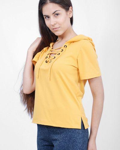 Желтая футбольная футболка Sab