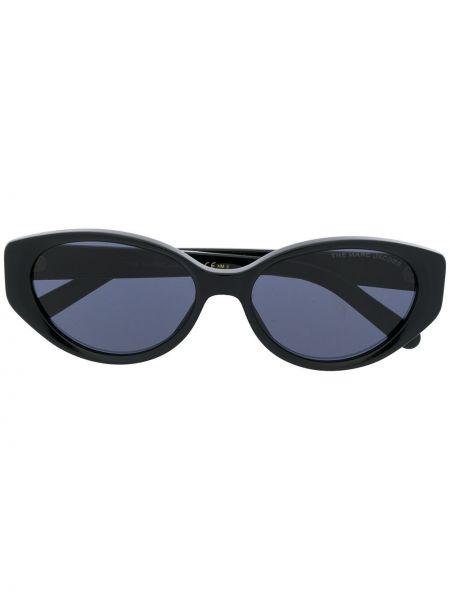 Прямые муслиновые черные солнцезащитные очки Marc Jacobs Eyewear