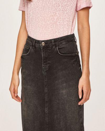 Юбка мини джинсовая на пуговицах Answear
