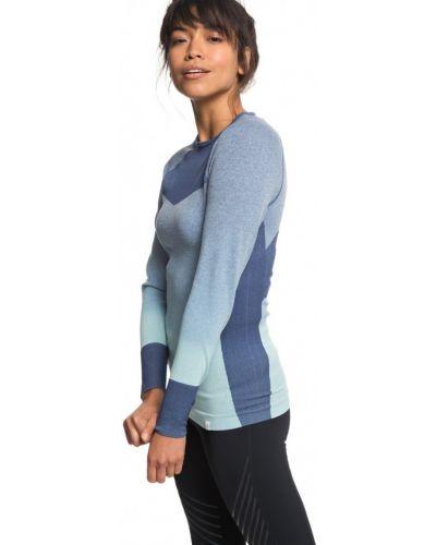 Платье футболка синее Roxy