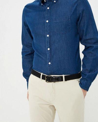 Джинсовая рубашка синий Springfield
