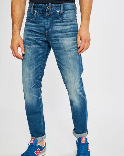 Прямые джинсы на пуговицах с карманами G-star Raw