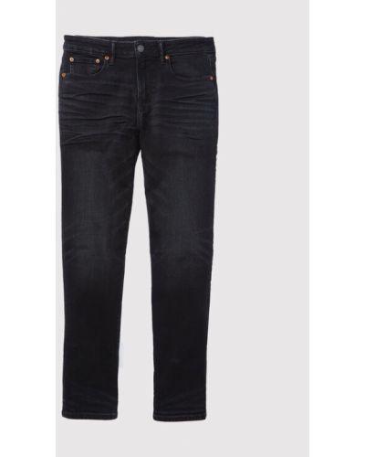 Mom jeans - czarne American Eagle