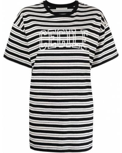 Хлопковая футболка - черная être Cécile