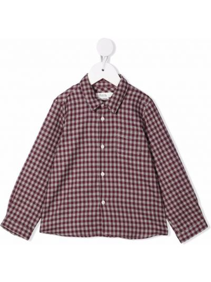 Fioletowa klasyczna koszula Bonpoint