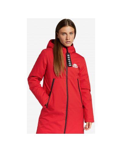 Пуховая куртка - красная Kappa