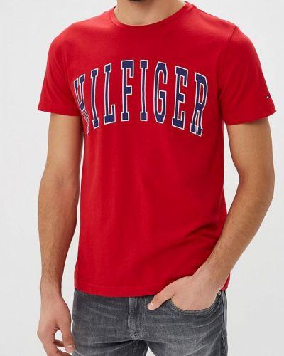 Красная футболка 2019 Tommy Hilfiger