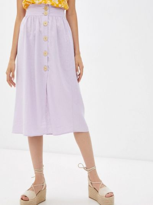 Фиолетовая юбка осенняя Colin's