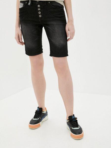Городские черные джинсовые шорты со стразами Urban Surface