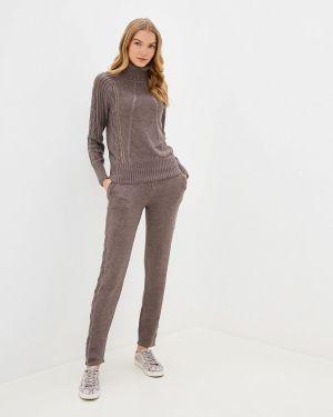 Костюм вязаный коричневый Conso Wear