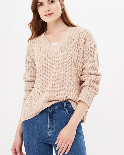 Бежевый пуловер 2018 Befree