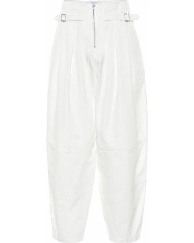 Bawełna bawełna biały spodnie Givenchy