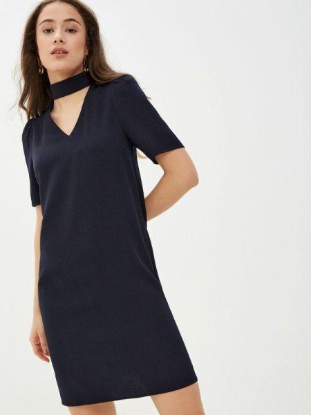 Платье прямое синее Likadis