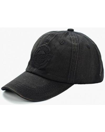 Черная кепка Piazza Italia