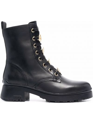 Черные ботинки из полиуретана Liu Jo