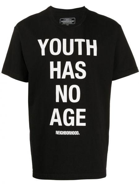 Koszula krótkie z krótkim rękawem prosto z kapturem Neighborhood