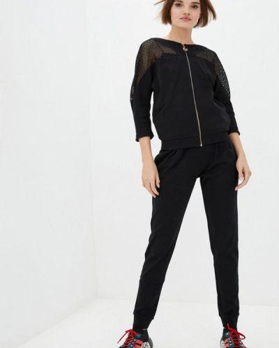 Костюмный черный спортивный костюм Ora