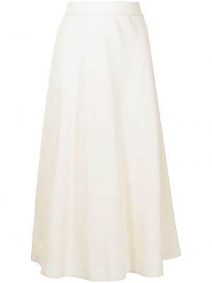 Biała spódnica wełniana Ralph Lauren Collection