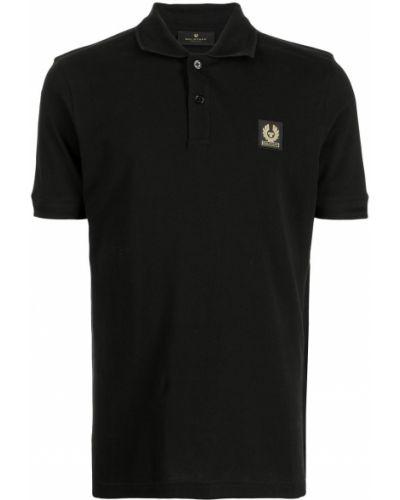 Koszula krótki rękaw - czarna Belstaff