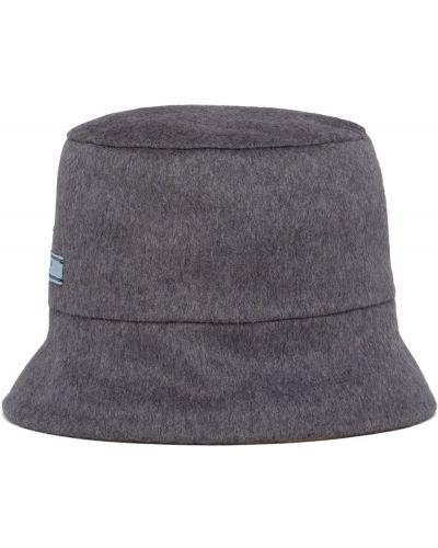 Z kaszmiru kapelusz Prada