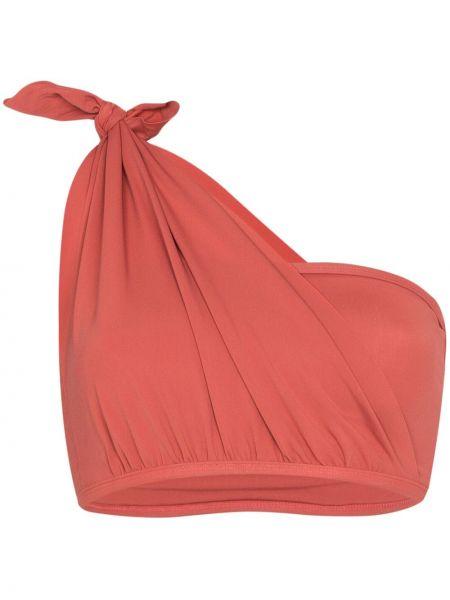 Розовые бикини на одно плечо эластичные Beth Richards