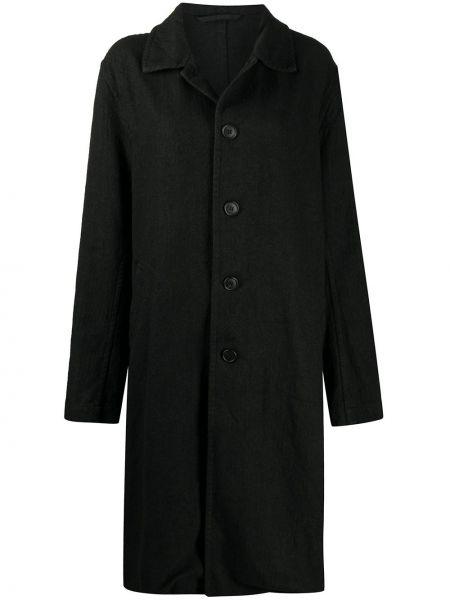 Свободное шерстяное пальто оверсайз на пуговицах Casey Casey