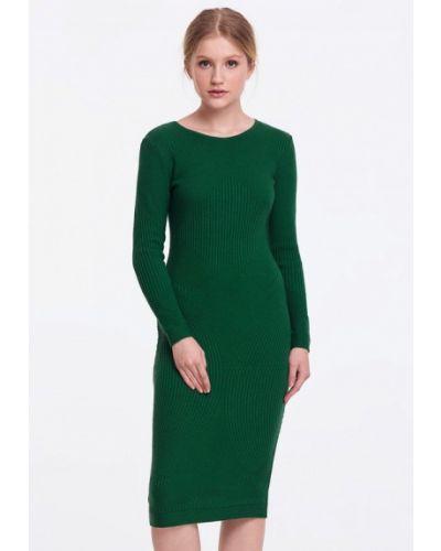 Зеленое платье весеннее Musthave