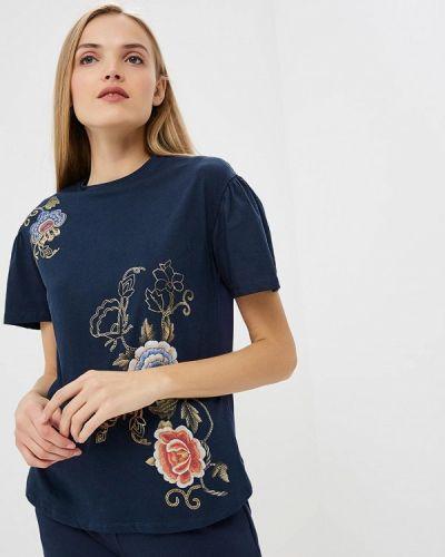 Синяя футболка 2019 Blugirl Folies