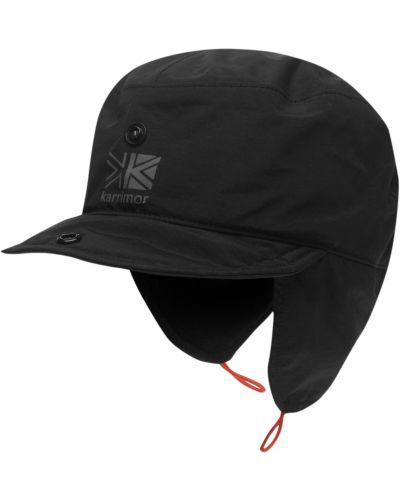 Czarny kapelusz z nylonu 883 Police