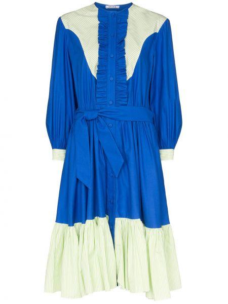 Платье с поясом винтажная на пуговицах Batsheva